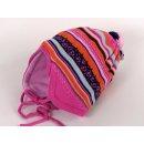 maximo Baby Mütze pink mit Bindeband 39