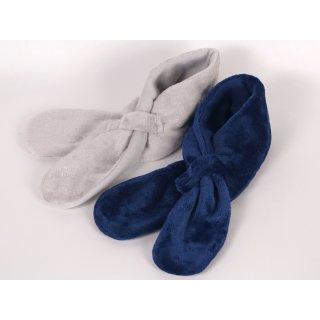 Sterntaler Schal Baby  blau grau